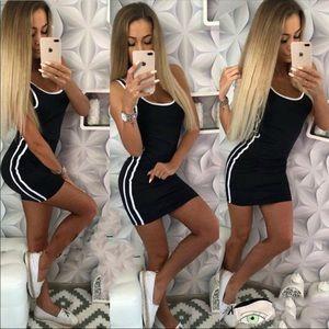 Dresses & Skirts - 🆕 Side stripe dress